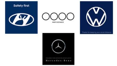 Photo of Demi Social Distancing, Logo Ikonik 4 Brand Mobil Ini Berubah