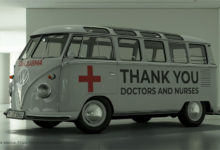 Photo of Volkswagen Kombi 'Thank You' Untuk Pejuang Corona