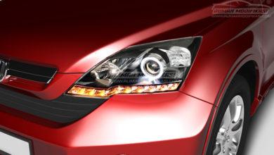 Photo of Spesial Pakai Angel Eyes dan Sequential, Lampu Honda CR-V Gen3