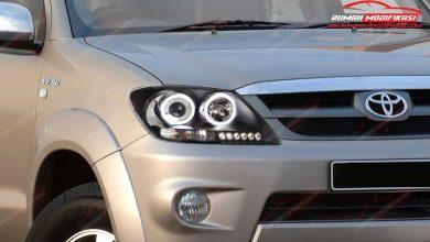 Photo of Headlamp Eagle Eyes, Angel Eyes dan Black JDM Untuk Fortuner 2004