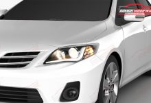 Photo of Headlamp Gres 2021, Angel Eyes di Wajah Toyota Altis